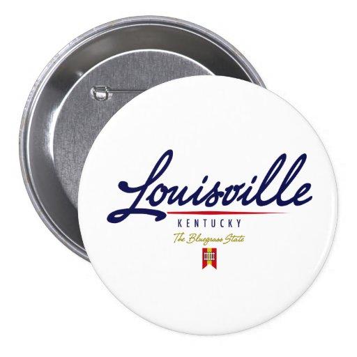 Louisville Script Pin
