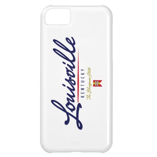 Louisville Script Cover For iPhone 5C