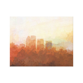 LOUISVILLE SKYLINE-In the Clouds Canvas