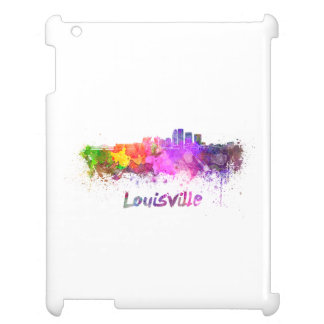 Louisville skyline in watercolor case for the iPad 2 3 4
