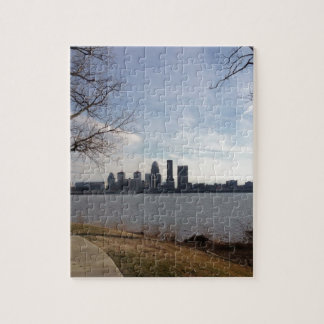 Louisville Skyline Jigsaw Puzzle