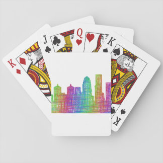 Louisville skyline poker deck