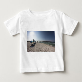 Lounge Chairs at Panama City Beach Pier Baby T-Shirt
