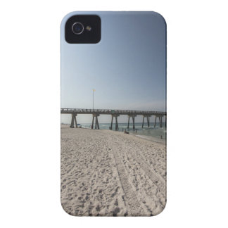 Lounge Chairs at Panama City Beach Pier Case-Mate iPhone 4 Cases