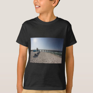 Lounge Chairs at Panama City Beach Pier T-Shirt