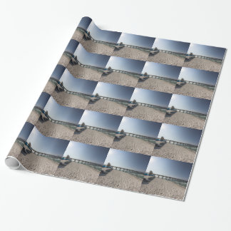 Lounge Chairs at Panama City Beach Pier Wrapping Paper