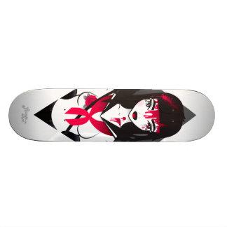 LoungeKat Skateboard: Sukeban Skateboard Deck
