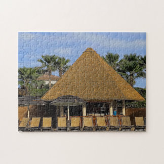 Lounging by the Pool Jigsaw Puzzle