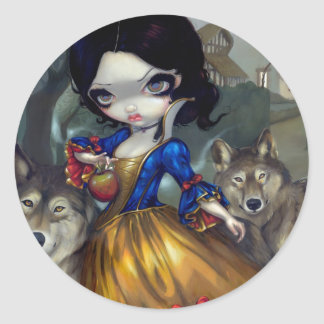 """""""Loup-Garou: Blanche Neige"""" Sticker"""