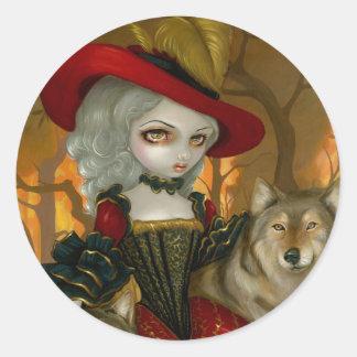 Loup-Garou d Automne Sticker