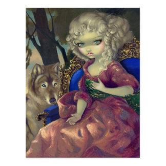 """""""Loup-Garou:  L'Aube"""" Postcard"""