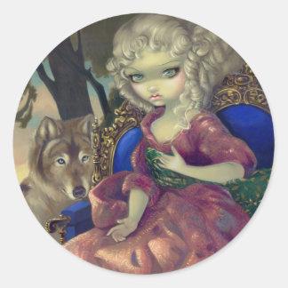 """Loup-Garou:  L'Aube"" Sticker"