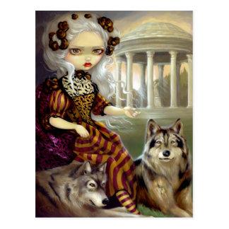 """Loup-Garou:  Le Temple"" Postcard"