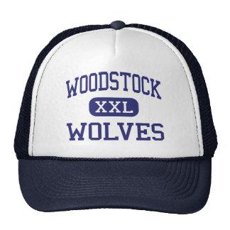 Loups Woodstock moyen la Géorgie de Woodstock Casquette