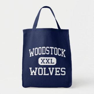 Loups Woodstock moyen la Géorgie de Woodstock Sac