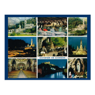 Lourdes, Multiview Postcard