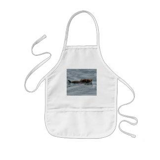 loutre de mer tablier enfant