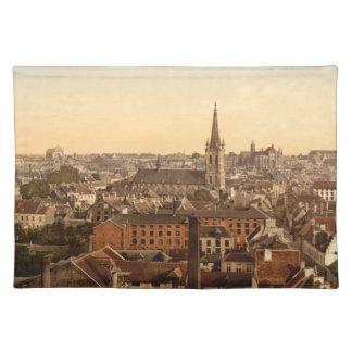 Louvain Cityview, Belgium Place Mat