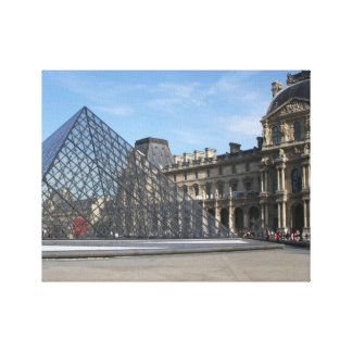 Louvre in Paris France on Canvas