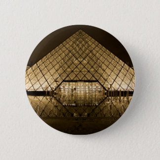 Louvre, Paris/France 2 Inch Round Button