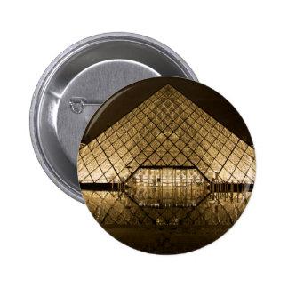 Louvre, Paris/France 2 Inch Round Button