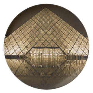 Louvre, Paris/France Plate