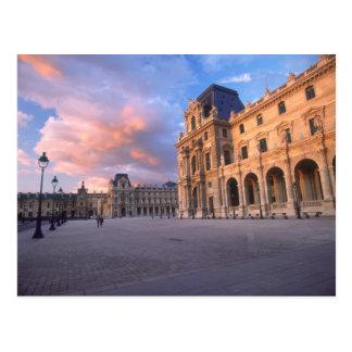 Louvre, Paris, France Postcard