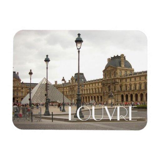 Louvre. Paris, France Flexible Magnet