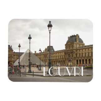 Louvre. Paris, France Rectangular Photo Magnet