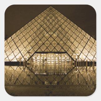Louvre, Paris/France Square Sticker