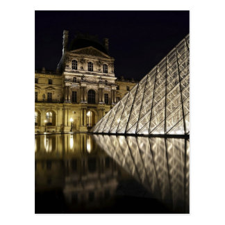 Louvre Pyramid 3 Postcard
