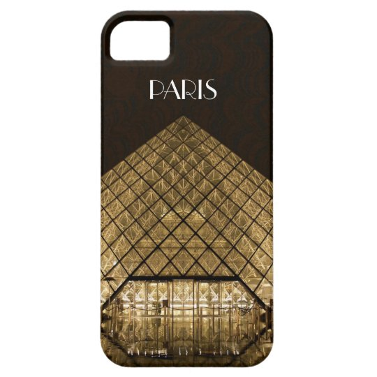 Louvre Pyramid iPhone SE/5/5S Barely There Case