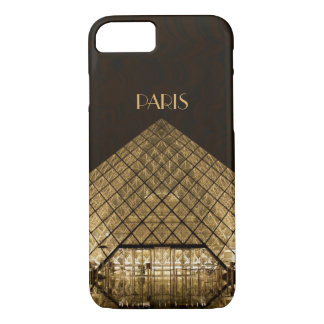 Louvre Pyramid iPhone X/8/7 Barely There Case