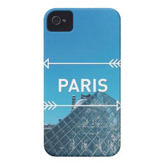 Louvre Pyramid Paris iPhone 4 Case-Mate Cases