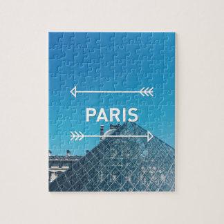 Louvre Pyramid Paris Jigsaw Puzzle