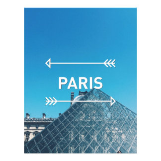 Louvre Pyramid Paris Letterhead