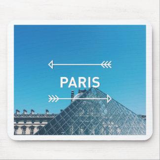 Louvre Pyramid Paris Mouse Pad