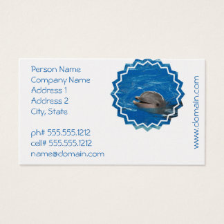Lovable Dolphin Business Card