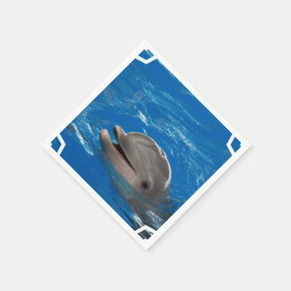 Lovable Dolphin Paper Napkins