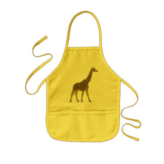 Lovable Giraffe Kids Apron