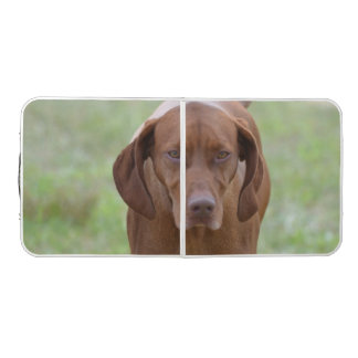 Lovable Vizsla Pong Table