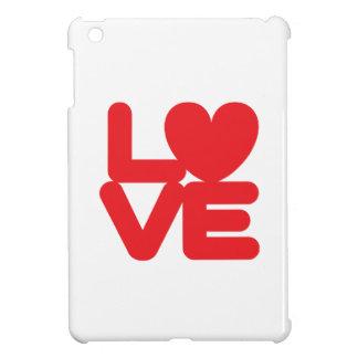 LOVE ♥ 01 ♥ Case Savvy Glossy iPad Mini Case
