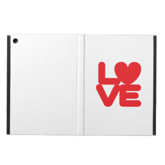 LOVE ♥ 01 ♥ iPad Air Case with No Kickstand