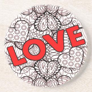 Love 1 coaster