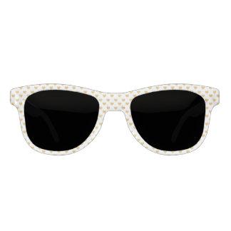 Love 2018 White - Golden heart Sunglasses
