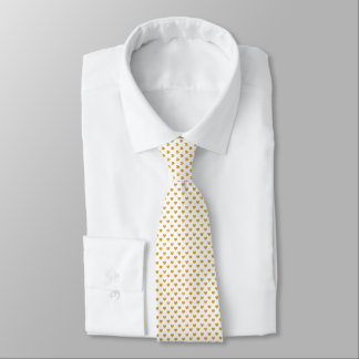 Love 2018 White - Golden heart Tie