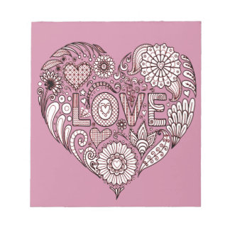 Love 3 notepad