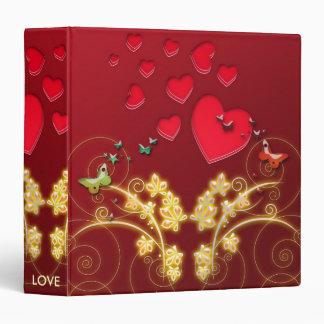 LOVE 3 RING BINDERS