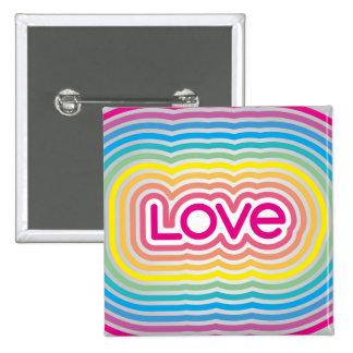 LOVE 3 Square Button