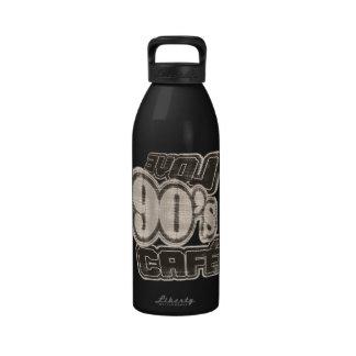 Love 90's Cafe Vintage- Water Bottle